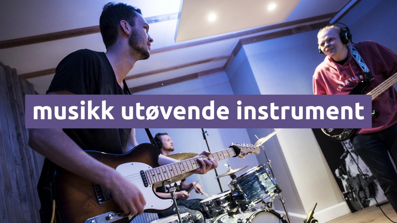 Musikk Utøvende Instrument