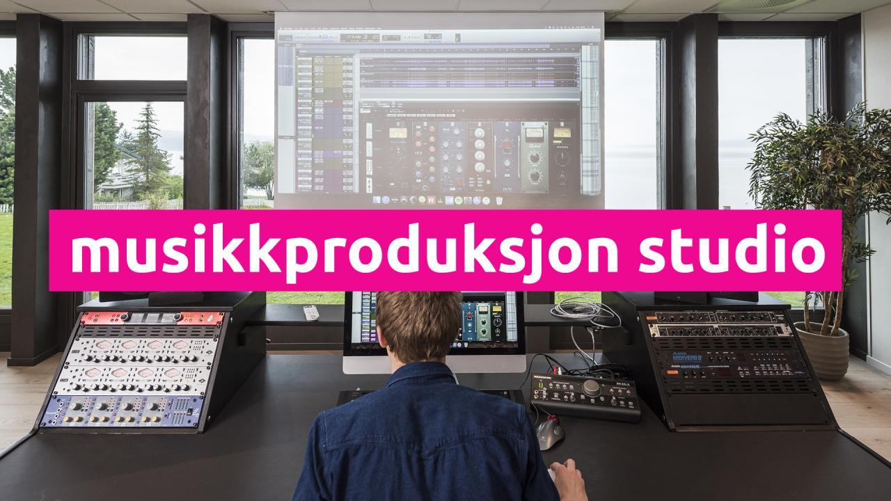 musikkproduksjon-studio